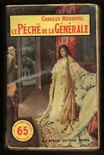 █ MEROUVEL Charles LE PECHE DE LA GENERALE Le Livre Populaire FAYARD 65 centimes