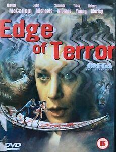 Edge of Terror DVD 1986 Erotic Thriller Movie aka The Wind with Meg Foster
