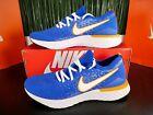 Nike Epic React Flyknit 2 Mens Running Shoes Blue White CJ5228 400 Size 14
