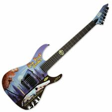 ESP LTD Six Feet Under Limited Horror Series Electric Guitar with case
