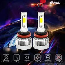 Fanless H11 CREE LED 1660W 249000LM  Car Headlight 6000K Globes Bulbs White Pair