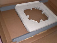 """OPEN BOX TB8BOGEN Ceiling Speaker Tile White 23-3/4"""" W x 14-1/2"""" D Pack of 6"""