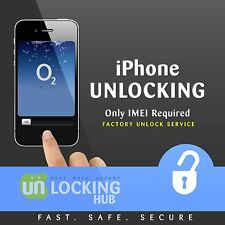 O2 TESCO GIFFGAFF UK IPHONE 4/4S/5/5C/5S FACTORY UNLOCK -CLEAN IMEI-FAST SERVICE