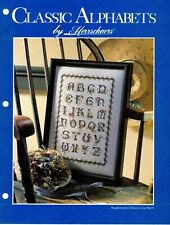 Classic Alphabets Multi Counted Cross Stitch Patterns