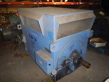 1500 HP Westinghouse Electric Motor, 3600 RPM, 4011 Frame, WPI, 4000 V