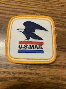 USPS United States Postal Service Embroidered Vintage Patch US Mail