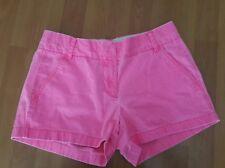 J. Crew Women's Shorts Pink Chino Casual Shorts Cotton size 4