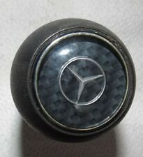 MERCEDES SLK R170 1996 - 2004 ORIGINAL CARBON CHECK AUTOMATIC GEAR KNOB