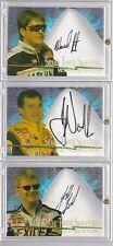 1997 Wheels - JEFF BURTON - Shark Tooth Signatures Autograph #d 025/800 NASCAR