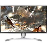 "LG 27UL650-W 27"" 4K UHD IPS LED Monitor with VESA DisplayHDR 400"