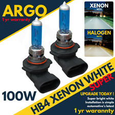 HB4 9006 P22D 100W SUPER WHITE XENON EFFECT HALOGEN HEADLIGHT FOGLIGHT BULBS 2PC