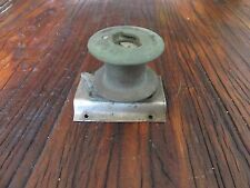 Vintage Bronze Winch      Sailboat