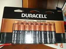 NIB Duracell Coppertop Alkaline AA Batteries, 16 Batteries-Exp. 2027 + free AAA