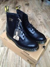 NEW Dr Martens Pascal Buttero 1460 Boots 50th Anniversary Smooth Black Mens US14