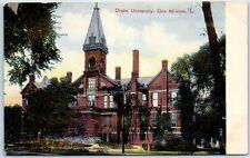 Des Moines, Iowa Postcard Drake University Main Building View Wheelock c1910s