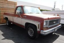 1973 Chevrolet 454 cui. Big Block Pick Up ,  California Patina , Nur 7% Zoll.