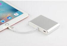 Lightning to AV HDMI/HDTV TV VGA/Audio/Cable Adapter For Iphone 6 6s 7 7 plus UK