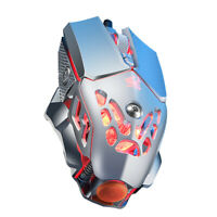 2400DPI Programming Mouse Laptop V9 Mechanical Game Wired Mouse