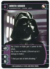 Star Wars TCG Rare Unleashed Promo Card Darth Vader