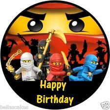 Tortenaufleger Lego Ninjago Fototorte Eßbar DVD NEU Tortenbild Dekoration backen