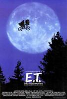 E.T. The Extra-Terrestrial Movie POSTER 27 x 40 Henry Thomas, Drew Barrymore, A