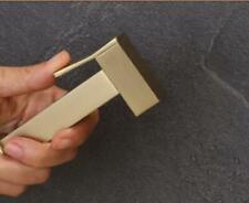 Toilet Brass Bidet Brushed Gold Handheld Shower Sprayer Single Bidet Shattaf