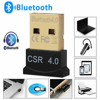 Bluetooth 4.0 USB 2.0 CSR4.0 Dongle Adapter For LAPTOP PC WIN XP VISTA 7/8 USA