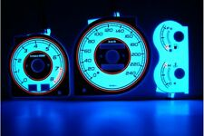 Mazda 323F BA glow gauges dials plasma dials kit tacho glow dash shift indicator