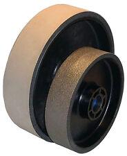 """BUTW 6"""" x 1 1/2"""" wide x 325 grit  diamond flex wheel grinding fits genie E"""