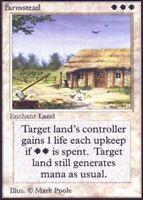 1x Farmstead MTG Unlimited NM- Magic Regular