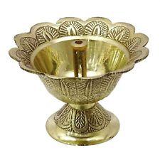 Diwali Set of 2 Brass Diyas Oil Lamps Religious Lighting Puja Prayers Gifts ebay