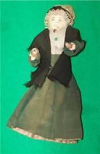 OLD HAND MADE DOLL CIVIL WAR ERA WIRE CLOTH RAG FOLK ART AMERICAN MUSEUM QUALITY