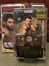 UFC MMA Round 5 Ultimate Carlos Condit Championship w/ Belt Cage Fighter