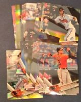 2017 Topps Chrome Refractor Prism Pink Sepia  RC 1-200 You Pick From List