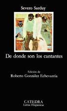 DE DONDE SON LOS CANTANTES LIBRI IN LINGUA  SEVERO SARDUY