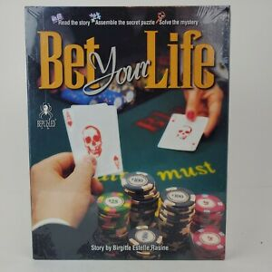 Bet Your Life - Bepuzzled - 1000 Pc Jigsaw Puzzle Mystery Game Sealed