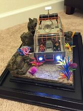 LOST IN SPACE-MOEBIUS CHARIOT PRO-BUILT BY GEMINI BUILD UP STUDIOS WITH DIORAMA