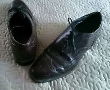 Park Place BiltRite Wingtip dress Shoes Mens size 8.5 Rockabilly Punk Grunge USA