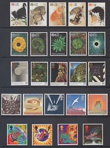 GB 1995 complete year Set of 43 commemoratives mint unhinged, clean and fresh