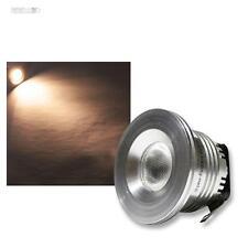 3 pz. faretti da incasso a LED 3W Cree Bianco Caldo 12V PUNTI LAMPADE LUCI