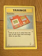 Pokemon Trading Cards Base Set 2 Trainer Pokedex
