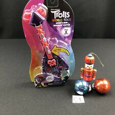 NEW TROLLS WORLD TOUR BARBS MINI GROOVIN GUITAR PLAYS 6 BIFFS AND CRAZY TRAIN