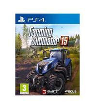 Farming Simulator 15 PS4 PlayStation 4 Play 4 3512899114463