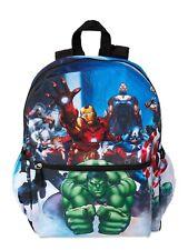 Marvel Superhero Boys Kids School Bag Spiderman Backpack Batman Rucksack Bookbag