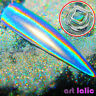 Chameleon Glitter Dust Mirror Effect Nail Art Chrome Pigment Holographic Powder