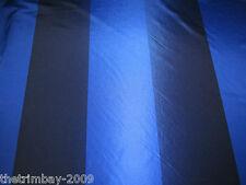 "Prestigious Textiles Hawaii Navy Striped Taffeta Curtain Fabric 56"" Wide £9.99"