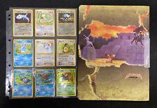 LUGIA 249 NeoGenesis Holo PokemonCard Forretress Smeargle Neo Premium File 2