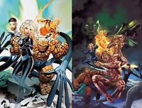 Fantastic Four Prodigal Sun #1 2 Comic Lot (Marvel 2019) Suayan Land Variant