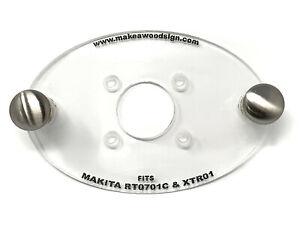 Makita RT0701C Palm Router Acrylic Base Plate