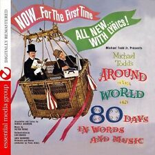 Michael Todd's Around The World In 80 Days In Word - Jack  (2013, CD NIEUW) CD-R